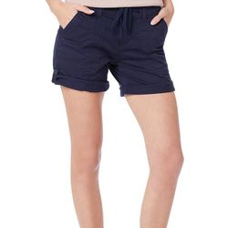 Supplies by Union Bay Womens Marty Twill Roll Cuff Shorts