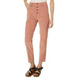 Womens Jinny Solid Corduroy Pants