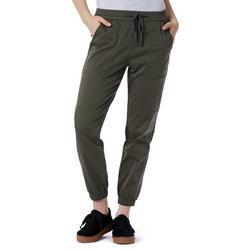 Womens Demery Sateen Jogger Pants