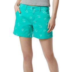 Juniors Calvin Palm Tree Shorts
