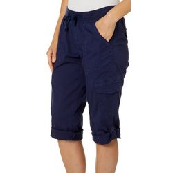 Supplies by Union Bay Womens Harriett Cargo Capris