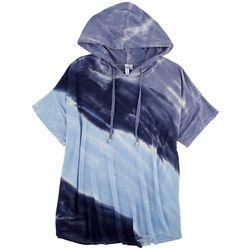Cable & Gauge Womens Tie Dye Hoodie Shirt