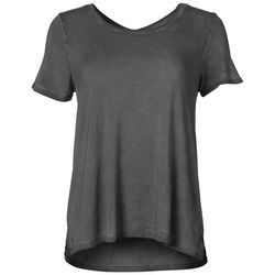 Cable & Gauge Womens Washed Top