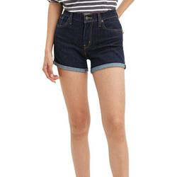 Levi's Womens Cuffed Hem Shorts