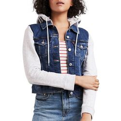 Levi's Womens Hybrid Original Trucker Jacket