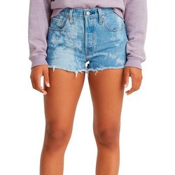 Levi's Womens 501 Original Faded Denim Shorts