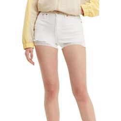 Levi's Womens 501 High Rise Destructed Denim Shorts