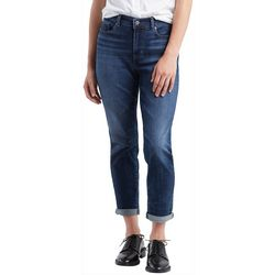 Womens Classic Ankle Jeans
