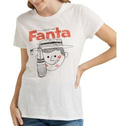 Lucky Brand Womens Screen Print Fanta T-Shirt