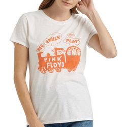 Lucky Brand Womens Pink Floyd See Emily Play T-Shirt