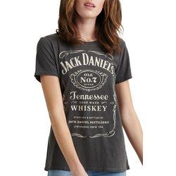 Lucky Brand Womens Jack Daniels Logo T-Shirt