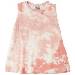 Womens Tye Dye Sleevless Top