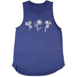 Ana Cabana Womens Floral Outlet Sleeveless Top