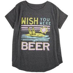 Ana Cabana Womens Beer T-Shirt