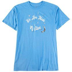 Ana Cabana Womens We Are Made Of Stars Quote Tshirt