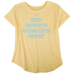 Ana Cabana Womens Screen Printed T-Shirt