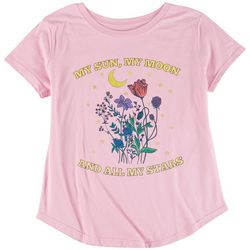 Ana Cabana Womens My Sun, My Moon and All My Stars T-Shirt