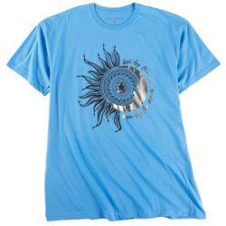 Ana Cabana Womens Crew Neck Live By The Sun T-Shirt