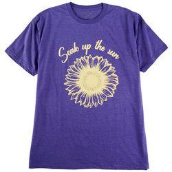 Ana Cabana Womens Screen Print Short Sleeve T-Shirt