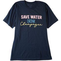 Ana Cabana Womens Save The Water Top