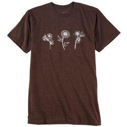 Ana Cabana Womens Flowers T-Shirt