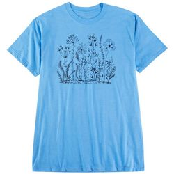 Ana Cabana Womens Garden Screen Print Tshirt