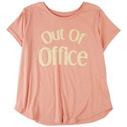 Ana Cabana Womens Fun Quote T-Shirt