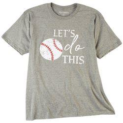 Ana Cabana Womens Let's Do This  Printed T-Shirt