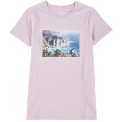 Levi's Womens Ocean Logo Print T-Shirt