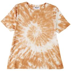 Double Zero Womens Tye Dye Short Sleeve Top