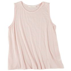 Lush Womens Soft Striped Tank Top