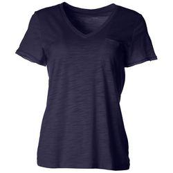 Dept 222 Womens V-Neck Chest Pocket T-Shirt