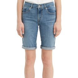 Levi's Womens Faded Roll Cuff Bermuda Shorts