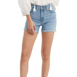 Levi's Womens Cuffed Hem Shorts