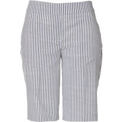 Briggs Womens Stripe Skimmer Shorts