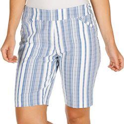 Briggs Womens 11 Stripe Skimmer Shorts