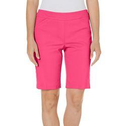 Briggs Womens Solid Millennium Bermuda Shorts