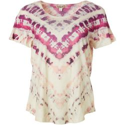 OneWorld Womens Mix Berries Embellished Top