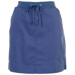 Fresh Womens Solid Casual Skort