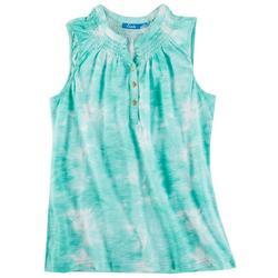 Fresh Womens Tye Dye Tank Top