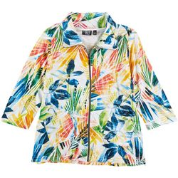 Onque Casual 3/4 Multi Color Jacket