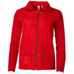 Thomas & Olivia Womens Quilted Jacket