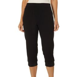 Onque Casual Womens Solid With Glitter Bottoms