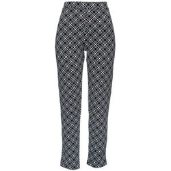 Onque Casual Womens Tile Print Ankle Pants