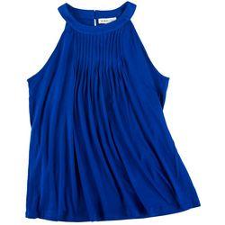 Kikonana Womens Halter Look Solid Sleevless Top
