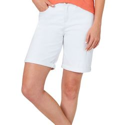Lee Womens Flex Motion Solid Shorts