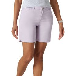 Lee Womens Twill Chino Walking Shorts
