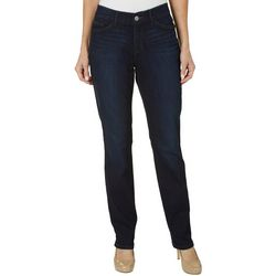 Lee Womens Freedom Straight Leg Jeans