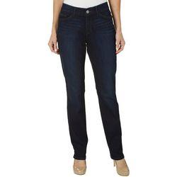 Womens Freedom Straight Leg Jeans