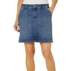 Lee Womens Solid Regular Fit Skort